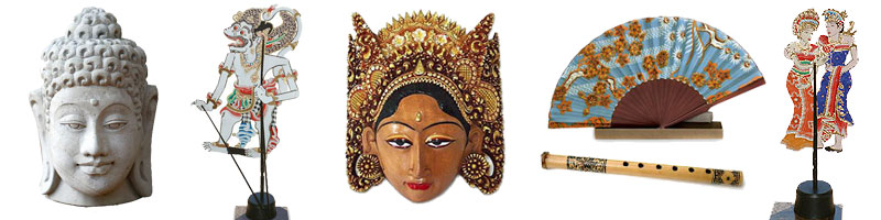 Handcrafted decor accessories from Bali and Java