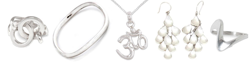 Handcrafted sterling silver jewelry