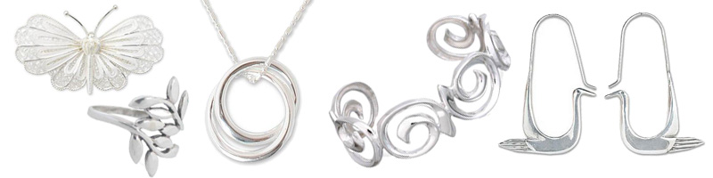how to clean sterling silber jewlery