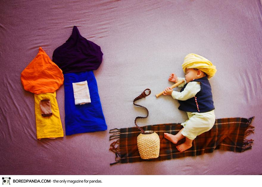Creative Baby Photography by Queenie Liao