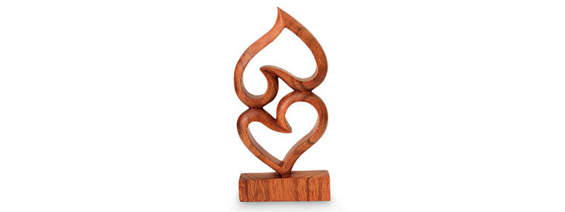 Christmas Gift for wife: Romantic sculpture