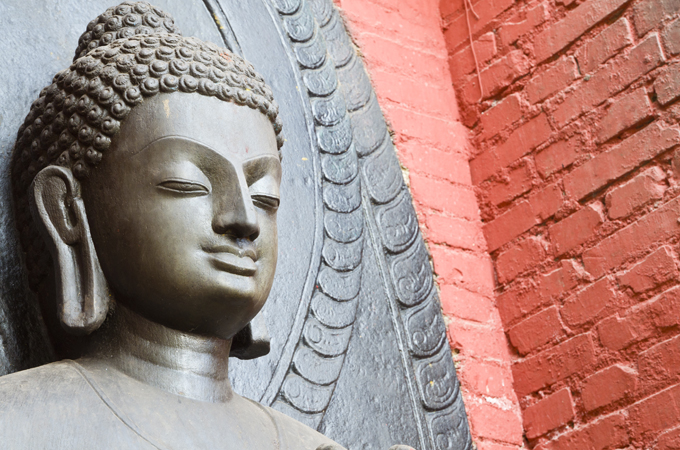 Buddha's birthplace, believed to be in Nepal, marks the origin of Buddhism