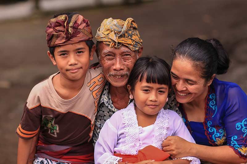 Made Wirata's family