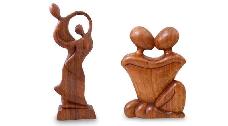 Wedding Statue Gifts: 5 Year Anniversary Gift Ideas