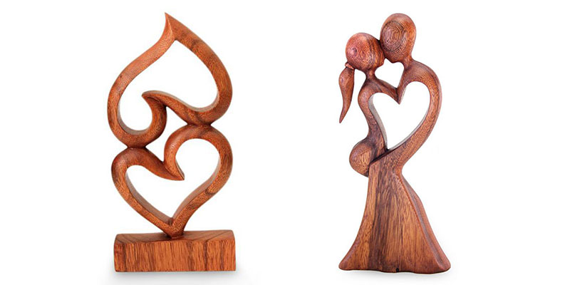 valentines day gifts for her romantic sculpture - Gifts For Her Valentines Day