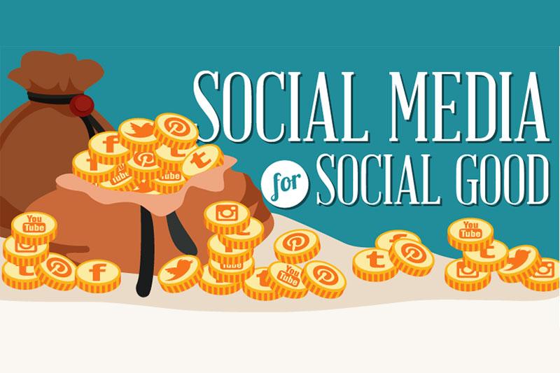 Social Media for Social Good: Infographic