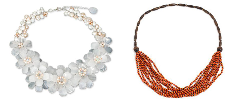 Spring 2014 Jewelry Trends: Statement Necklaces