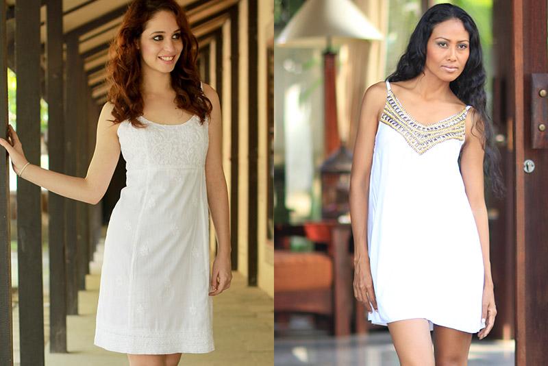 Spring 2014 Fashion Trends: Little White Dress