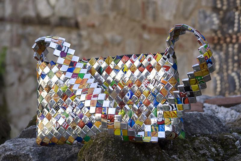 Recycled Handbag by Maria Isabel Ramos