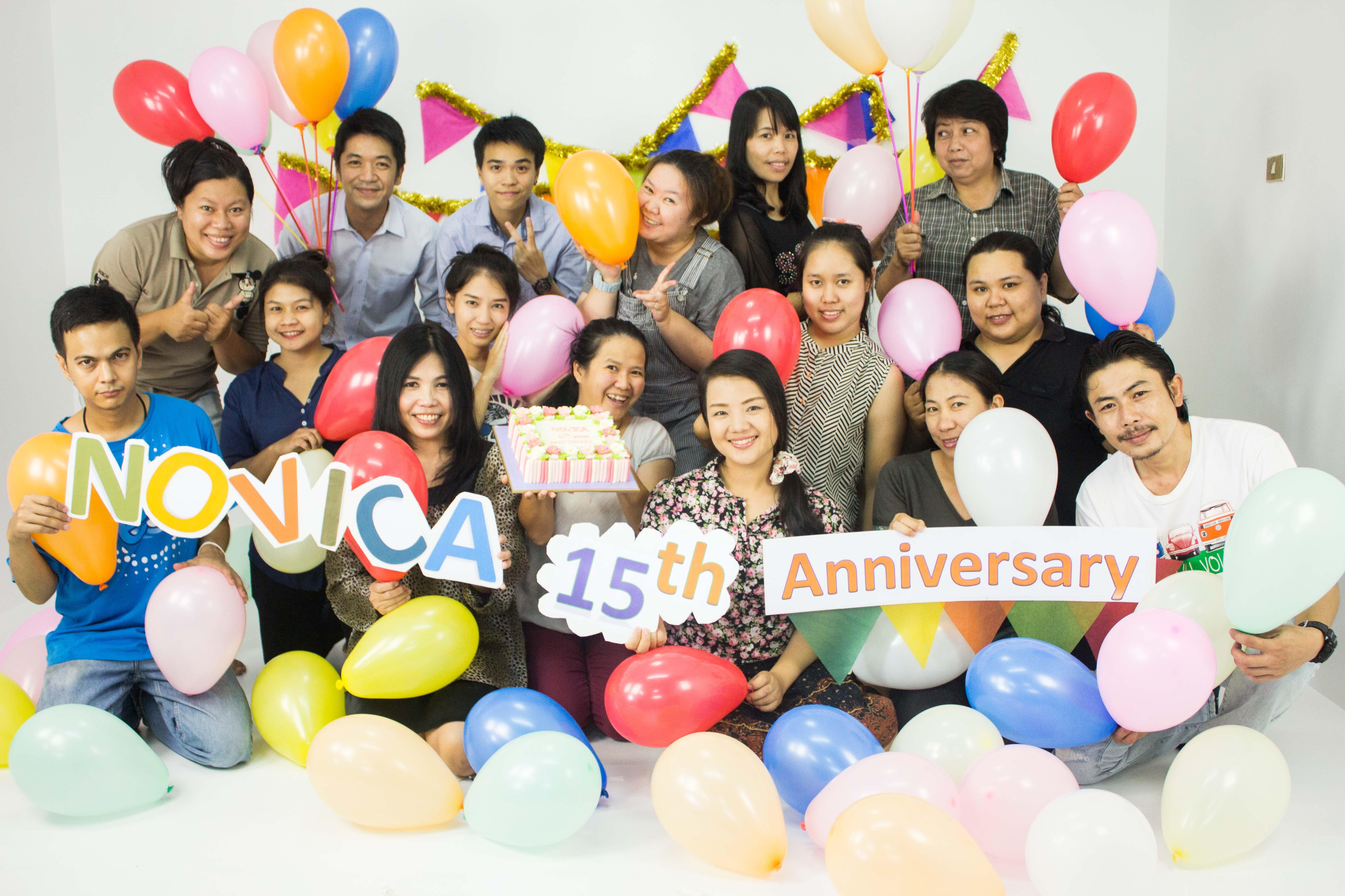 NOVICA Thailand Team