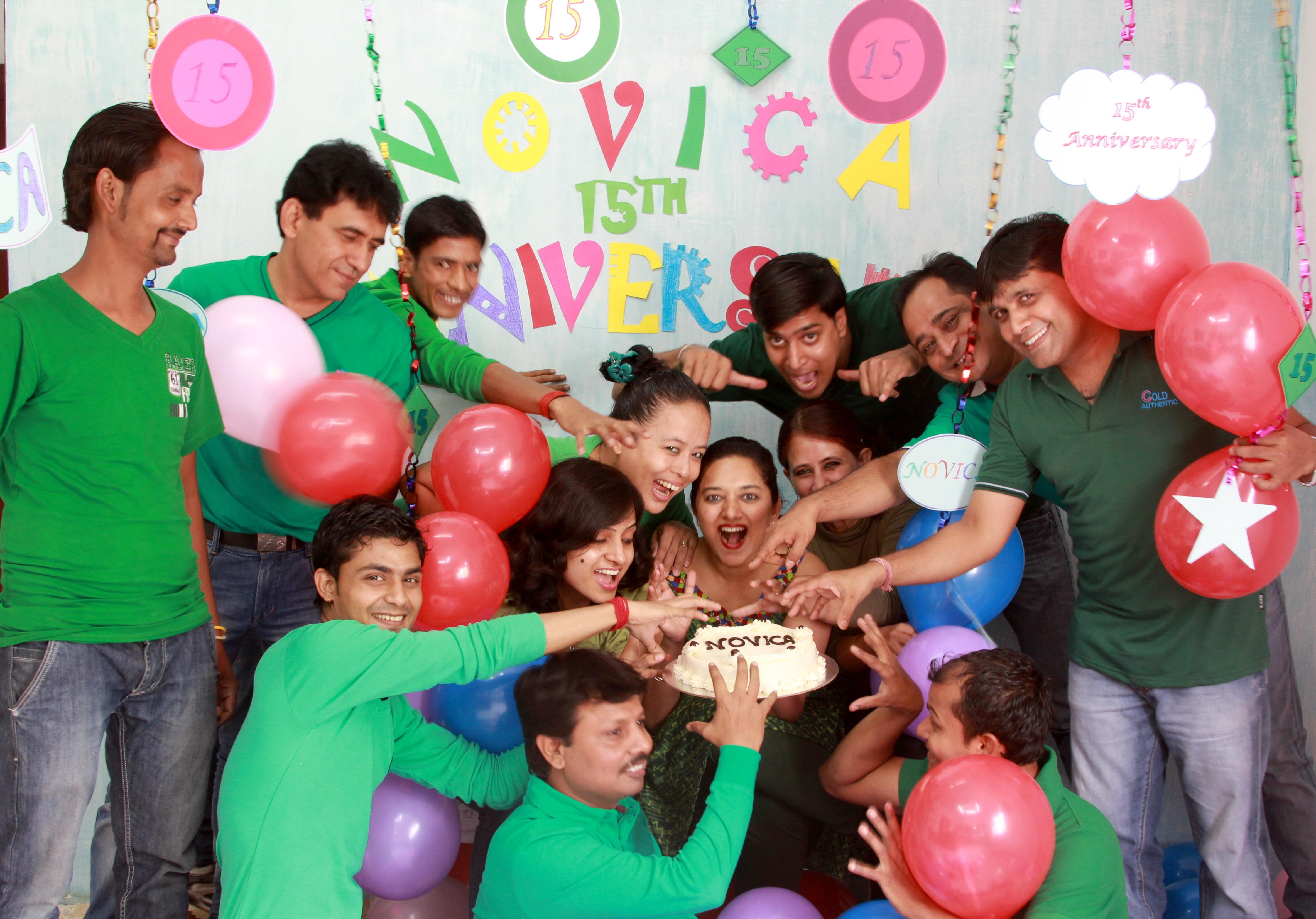 NOVICA India Team
