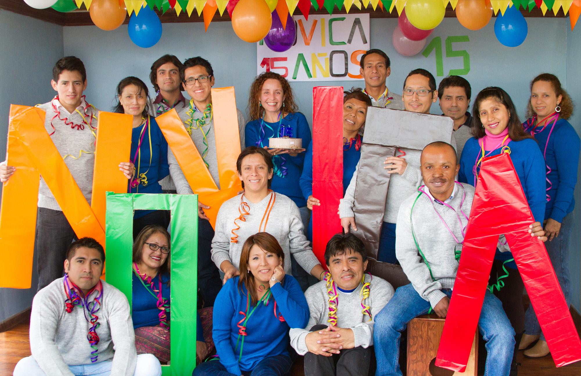 NOVICA Andes Team