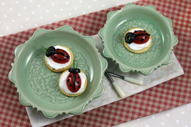 Celadon Ceramic Plates
