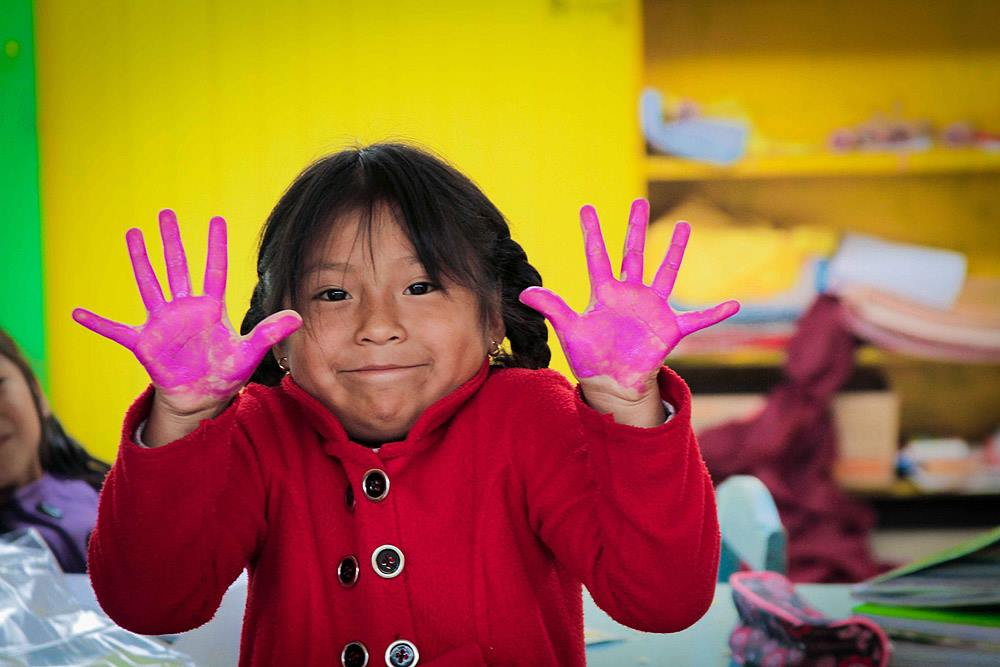 Transforming a Pre-school with Artisans in Peru