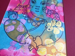 Brightening My Spirit With Ganesha Artwork From India