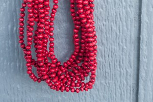Add a Pop of Color with a Beaded Necklace