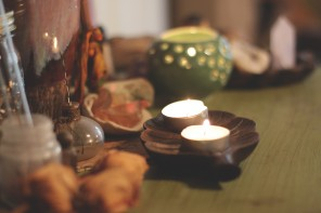 Creating Intimate Sacred Space with Candlelight