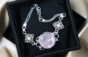 Over the Moon with Rose Quartz Jewelry