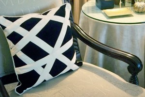 My New One-Of-A-Kind Geometric Pillow
