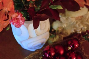 Handcarved Vase: A Showcase Centerpiece