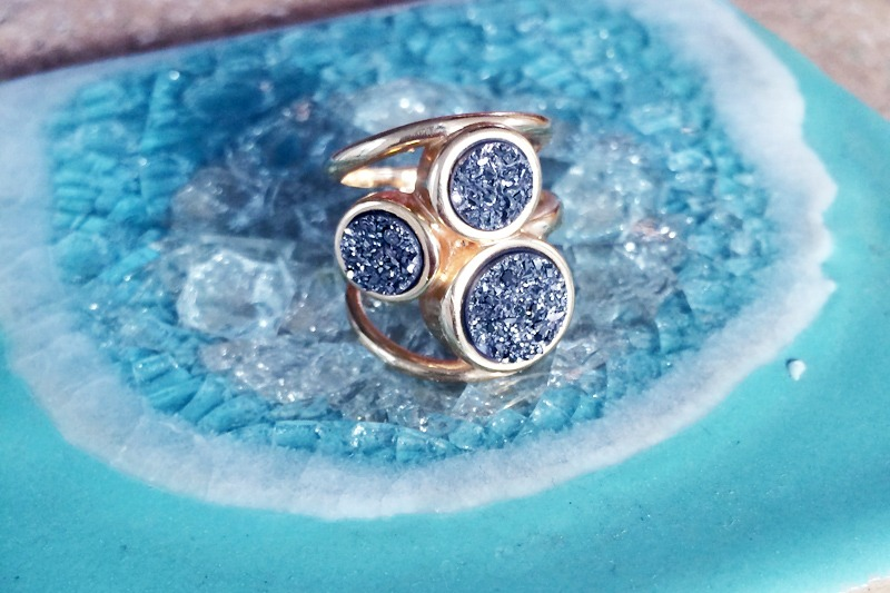Drusy Cocktail Ring