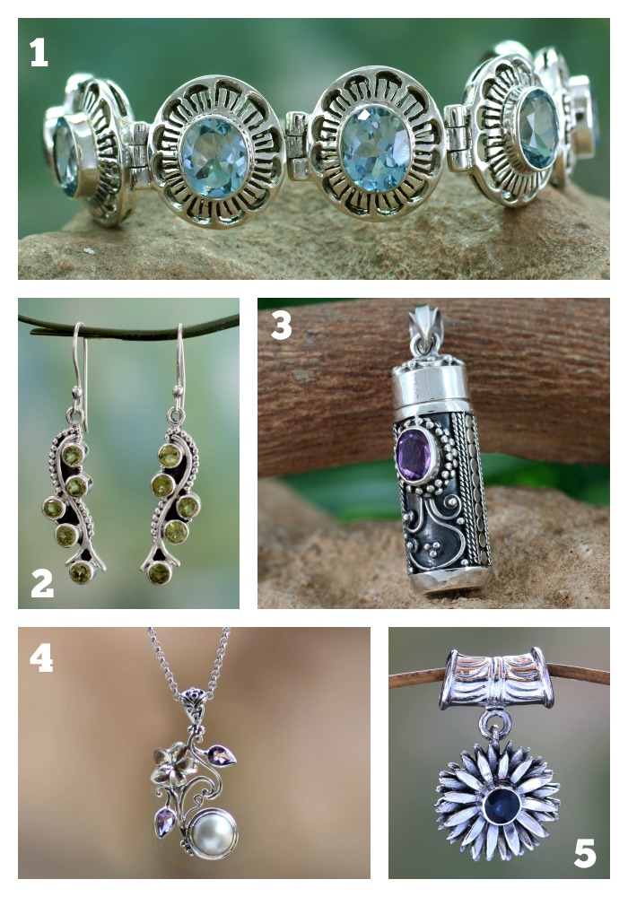 Christmas Gifts for Mom - Birthstone Jewelry