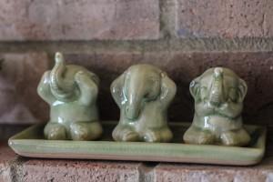 """Elephant Life Lessons"" Charming Elephant"