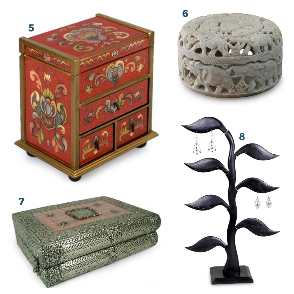 Christmas Gifts for Wife - Jewelry Boxes
