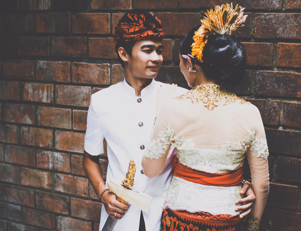 A traditional balinese wedding for Bali wedding decoration hire