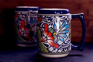 Handcrafted Ceramic Beer Mugs