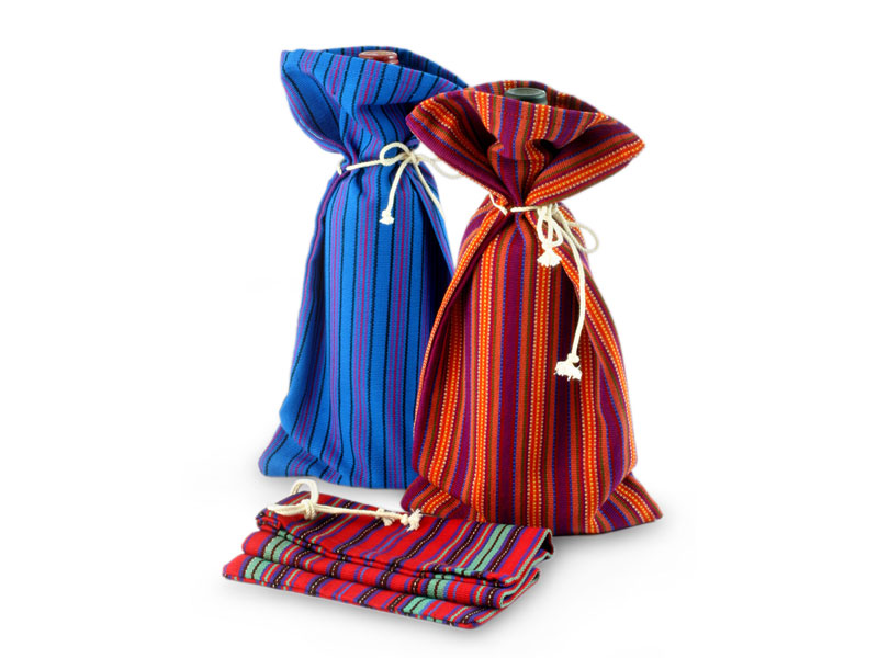 Best Mothers Day Gifts - 'Cheers' wine bags