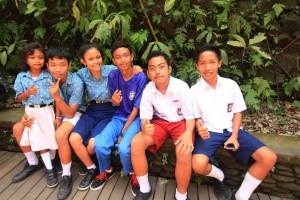 Happiness at a Bali Orphanage