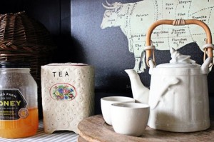 Tea Time with a Ceramic Tea Set from Bali