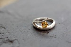 Circle Of Love - Citrine Ring From Nana