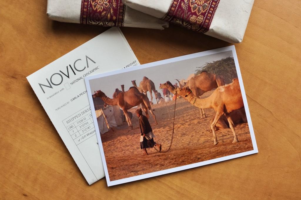 NOVICA gift packaging