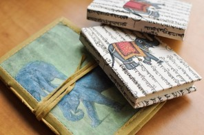 Handmade Journals and Notebooks for Artists