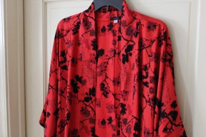 A Beautiful Artisan Crafted Robe From Indonesia