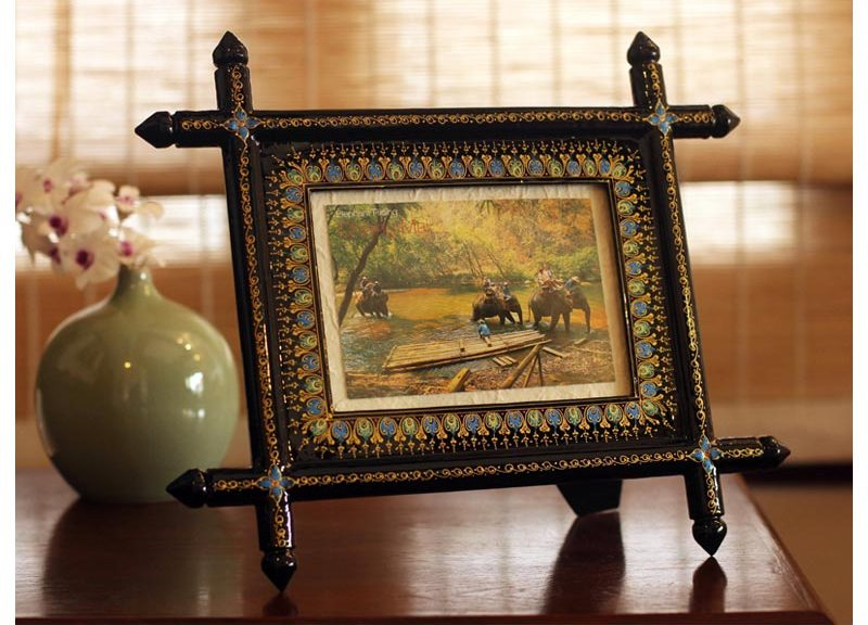 Lacquered Wood Frame