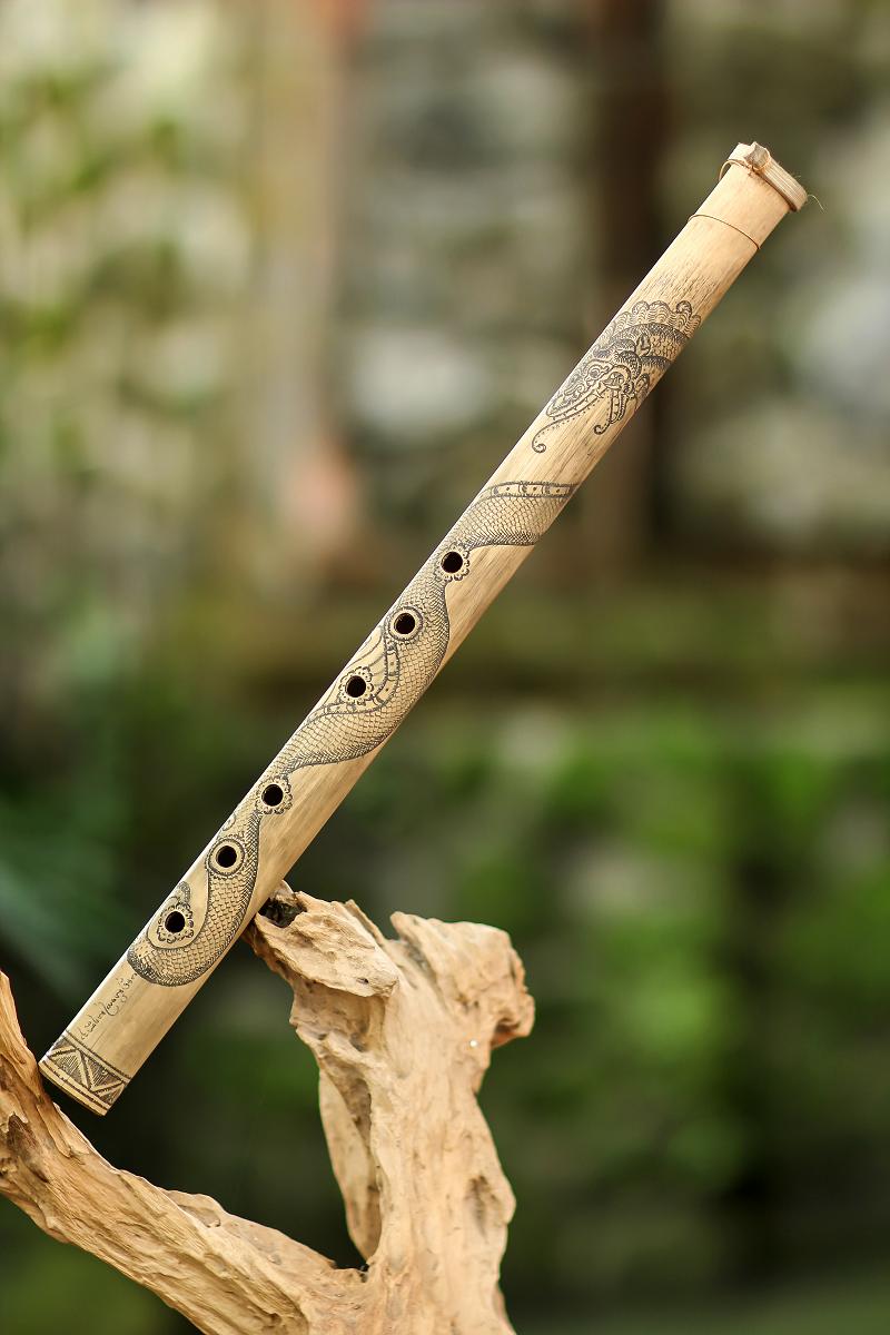 Balinese bamboo flute