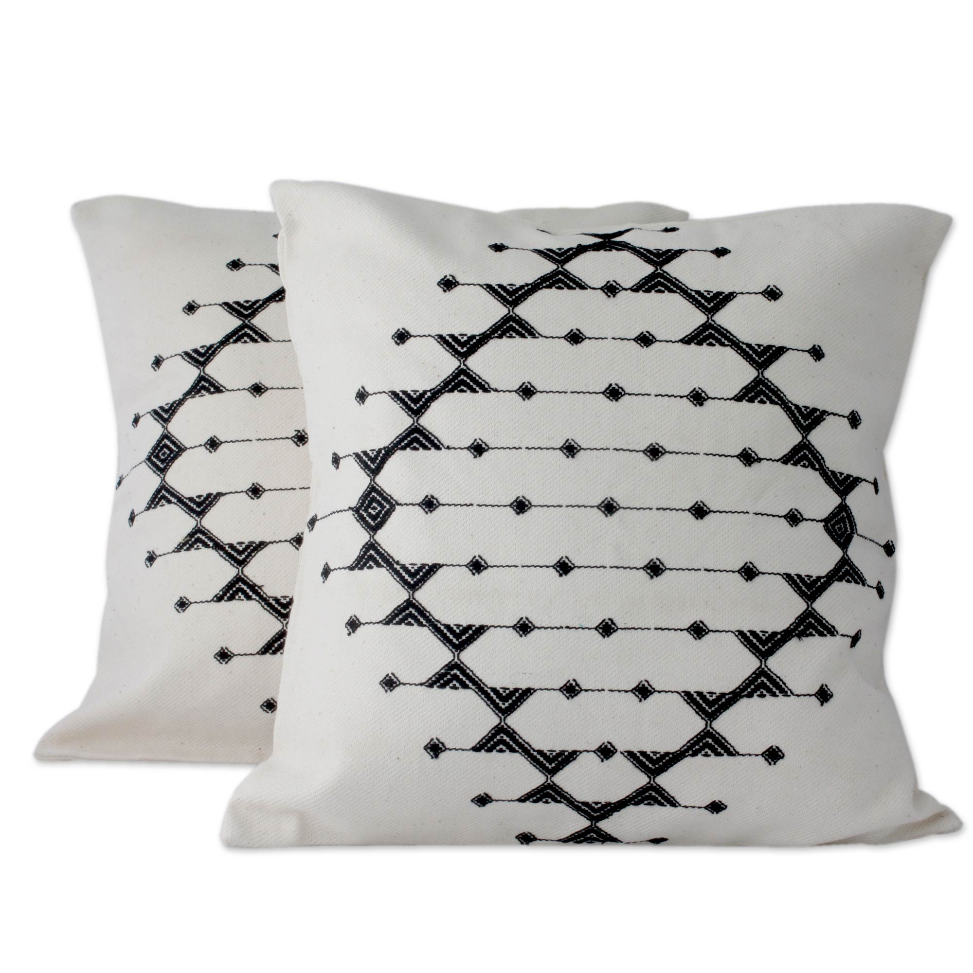 Monochrome Galaxy Cushion Covers