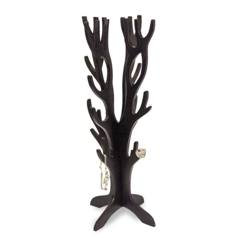 Wood Jewelry Tree