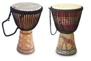 Create A Djembe Drum End Table to Spice Up Your Living Room