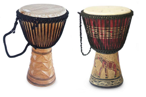 Decor Ideas: Create A Djembe Drum End-Table