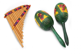 musican instruments from the andes
