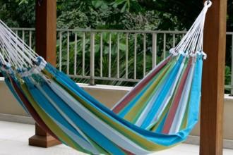 Cotton striped hammock