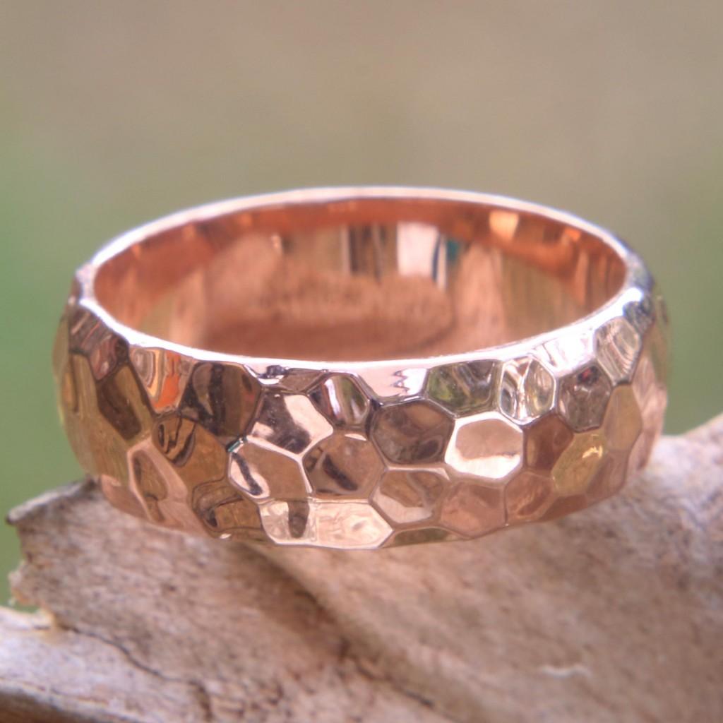 rosegold2, wedding bands, circle rings