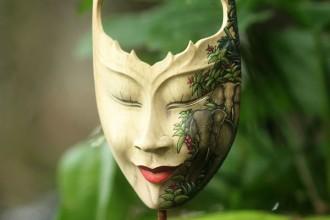 Goddess of Elephants Mask