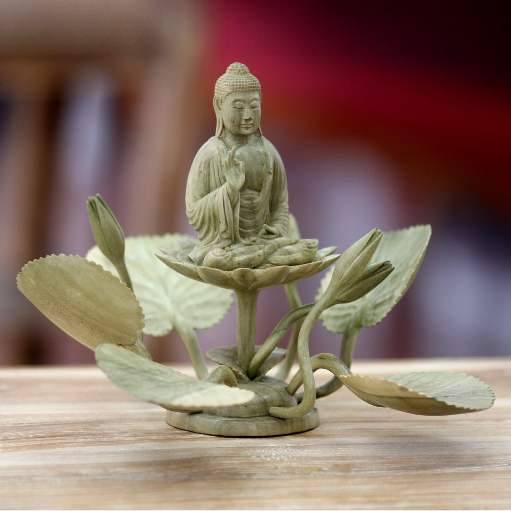 Zen home decor ideas buddha decor and art novica for Zen home decorations