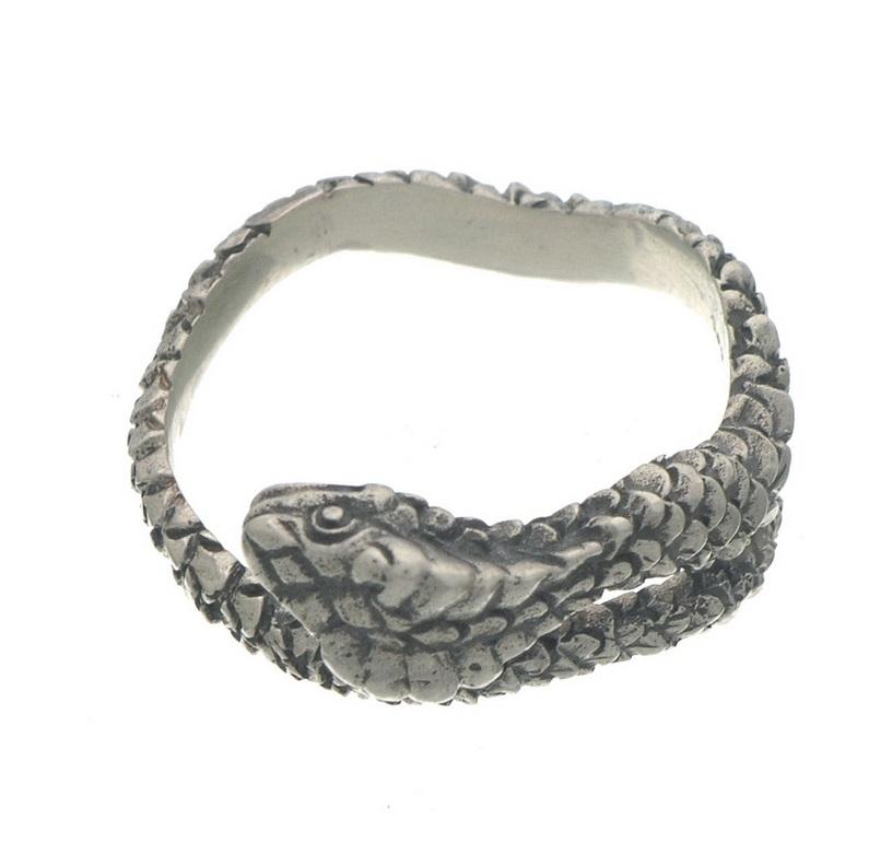 silver cobra ring