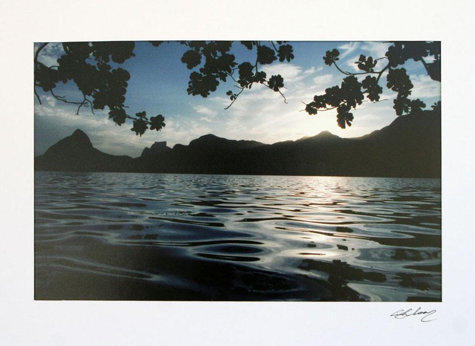 Colors of the Lagoon Photograph Rio de Janeiro Art NOVICA